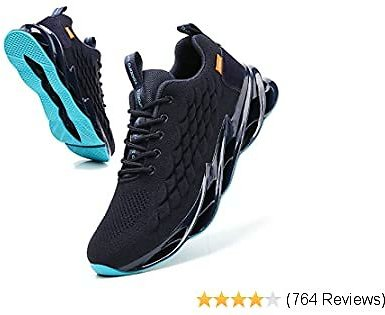Ezkrwxn Men Sport Athletic Running Walking Shoes Jogging Sneakers