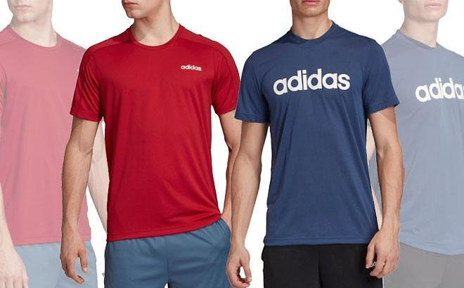 Adidas Men's Designed 2 Move T-Shirts for ONLY $10 At Dick's Sporting Goods (Reg $25)