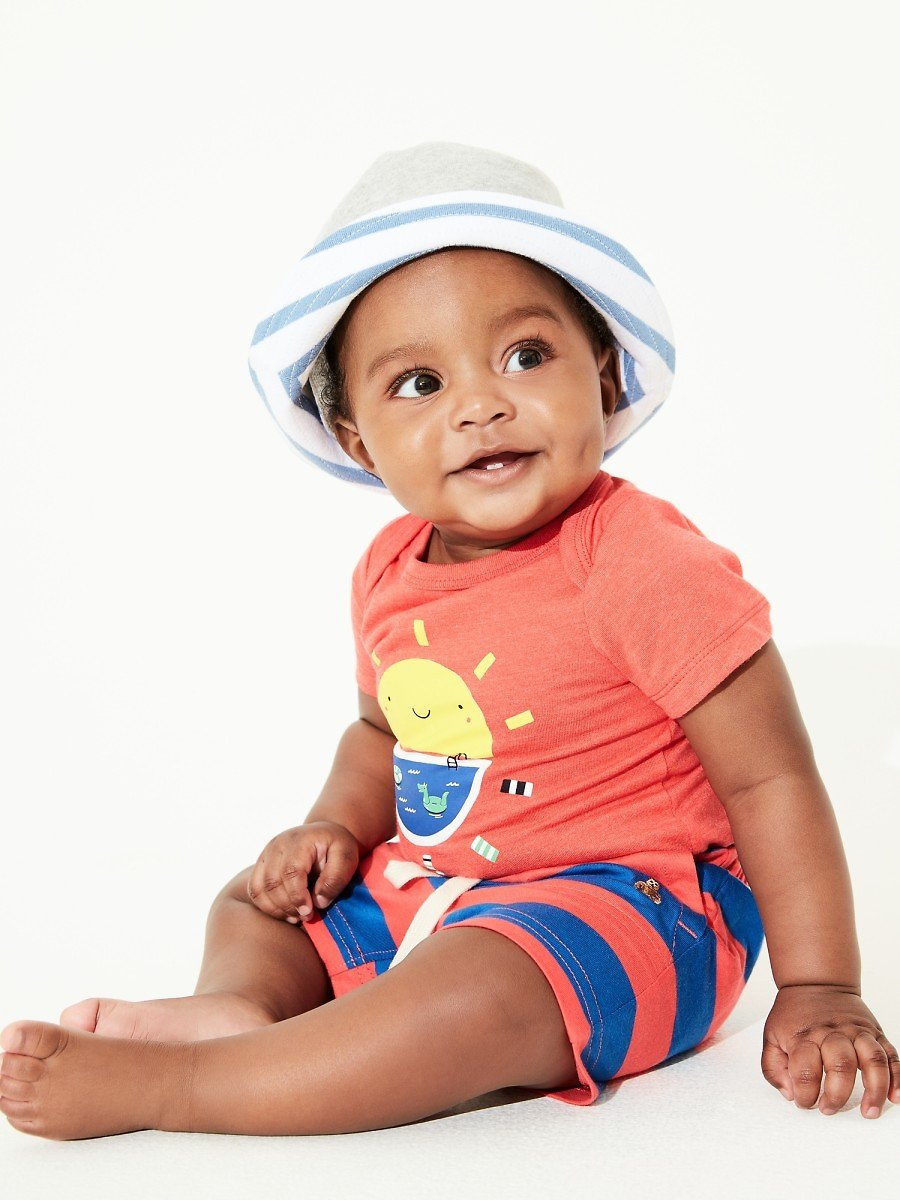 Baby Mix and Match Stripe Shorts