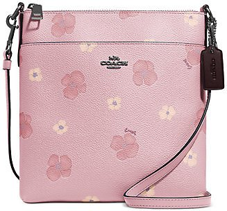 COACH Pansy Print Mini Kitt Crossbody (3 Colors)