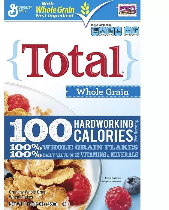Total Whole Grain Cereal - 16 Oz - General Mills