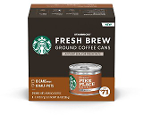 8-Count Starbucks Fresh Brew Coffee Cans