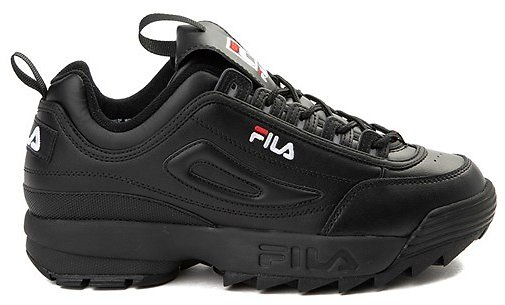Mens Fila Disruptor 2 Premium Athletic Shoe - Black