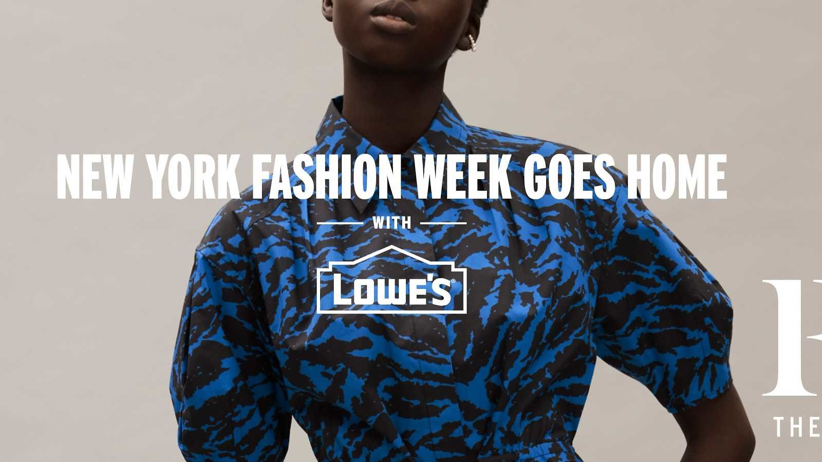 Lowe's Brings New York Fashion Week 'home' with Curations from Rebecca Minkoff, Jason Wu and Christian Siriano