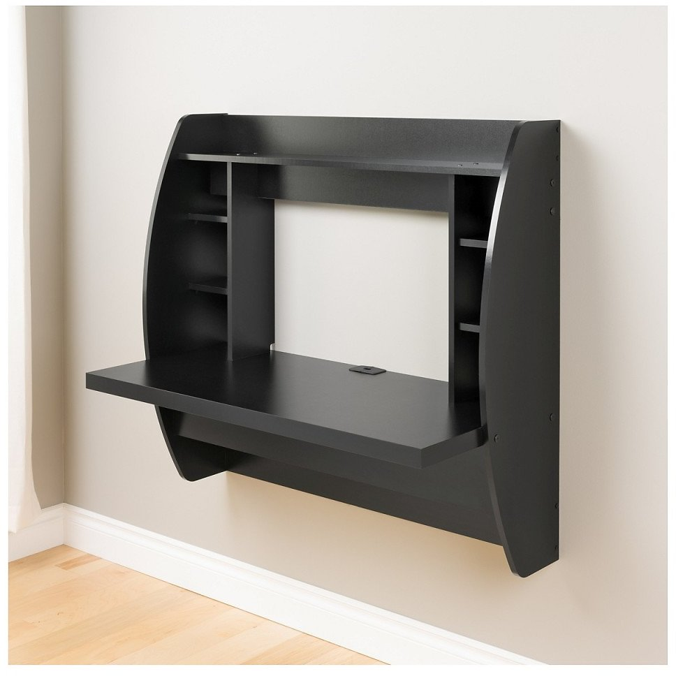 Floating Desk with Storage (3 Colors)
