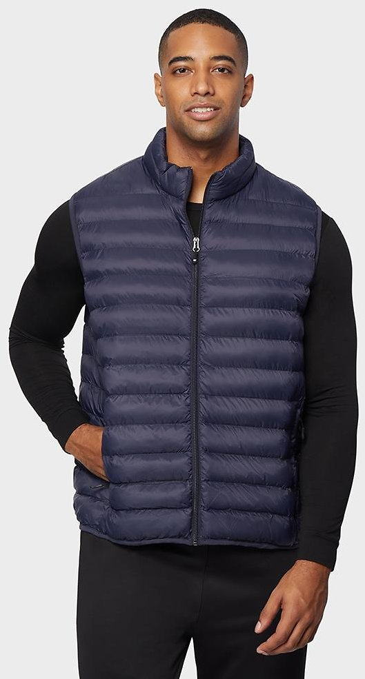 MEN'S LIGHTWEIGHT RECYCLED POLY-FILL PACKABLE VEST