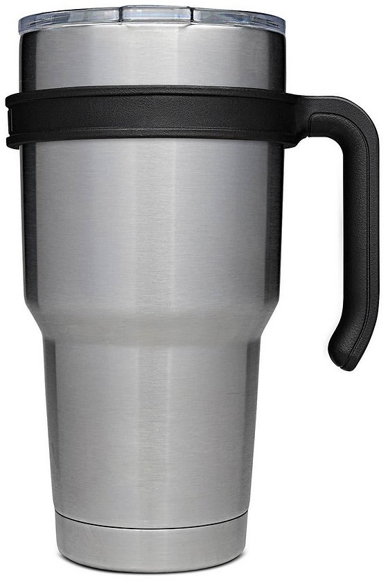 30-Ounce Double Walled Stainless Steel Vacuum Tumbler WITH LID