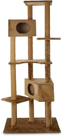 Animaze 6-Level Brown Cat Tree, 76