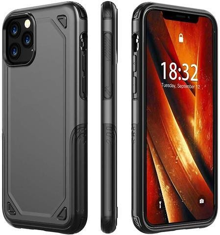 IPhone 11 Pro Max Case Built in Screen Protector 6.5inch - Newegg.com