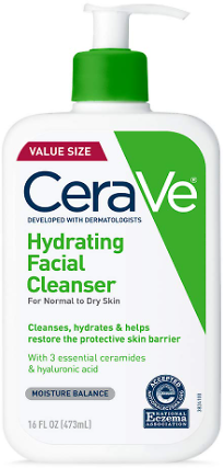 2-Pack CeraVe Hydrating Facial Cleanser 16oz