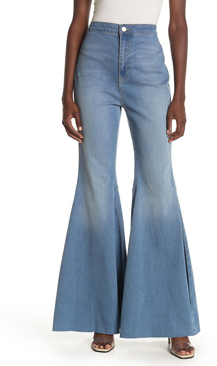 Free People | Just Float On Flare Leg Jeans | Nordstrom Rack