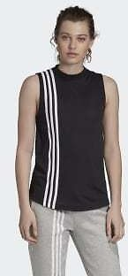 Adidas Must Haves 3-Stripes Tank Top - Black | Adidas US