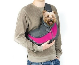 Small Dog Cat Sling Pet Carrier Bag for Travel
