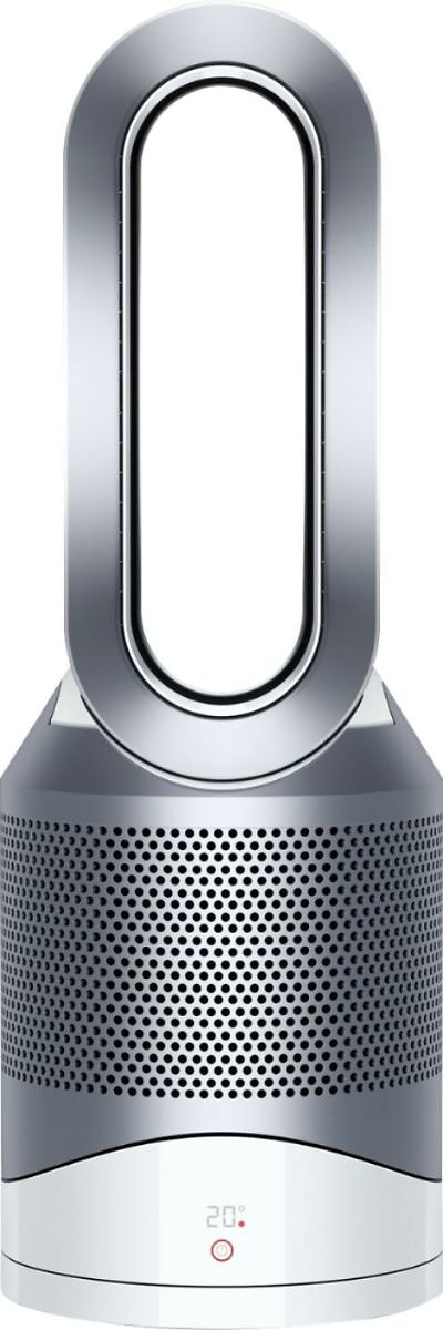 Dyson HP01 Pure Hot + Cool 400 Sq. Ft Air Purifier, Heater and Fan White/Silver 311383-01