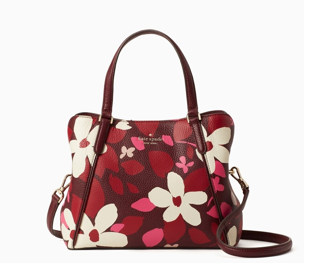 Today Only! Jackson Forest Floral & Medium Triple Compartment Satchel ( 5 colors)
