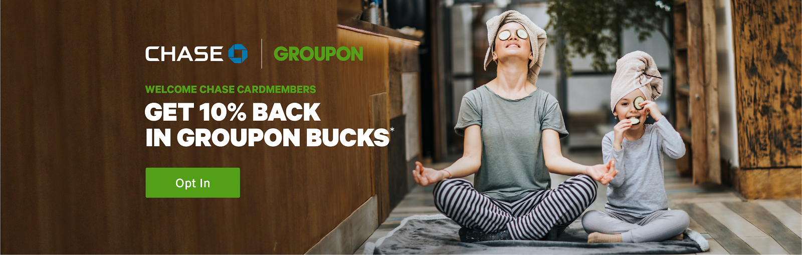 10% Back On Groupon Purchases for Chase Card Members