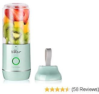 Portable Personal Blenders for Shakes and Smoothies Bear