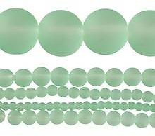 Matte Glass Round Beads By Bead Landing®