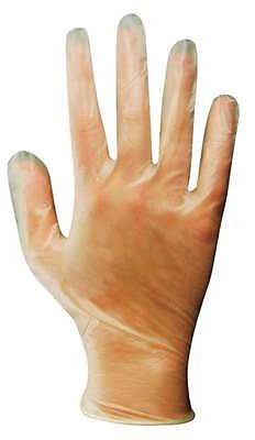 Soft Scrub Vinyl Disposable Gloves One Size Fits Most Clear Powder Free 10 Pk - Ace Hardware