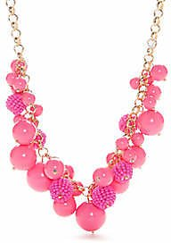 Crown & Ivy™ Bauble Frontal Necklace