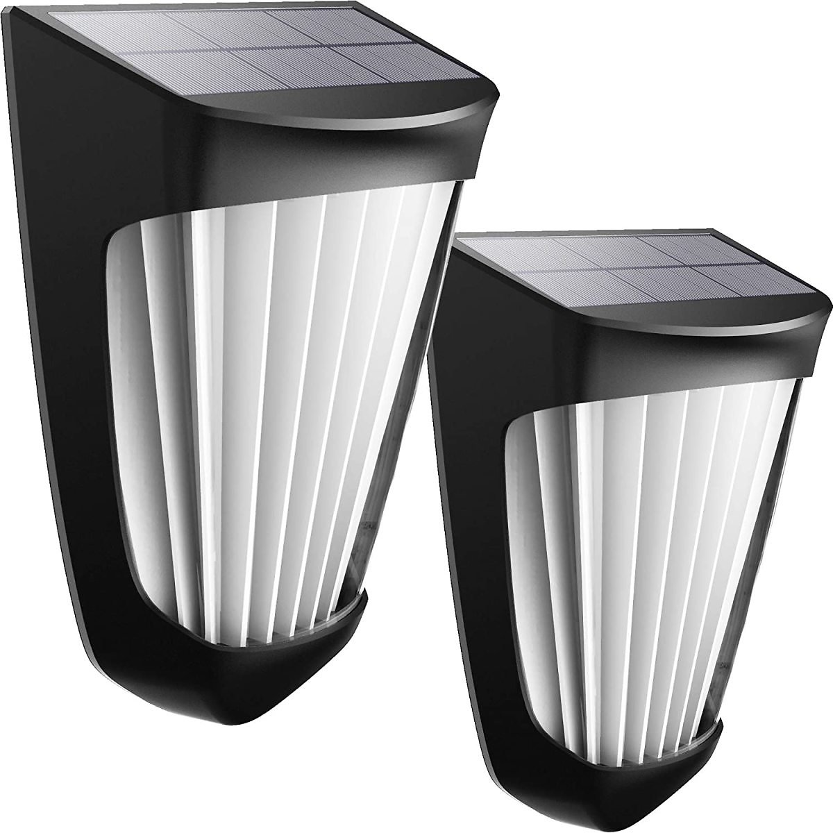 Solar Wall Lights Outdoor,Solar Deck Light 10 LED Wireless IP54 Waterproof Security Solar Motion Lights for Outdoor Deck, Patio,