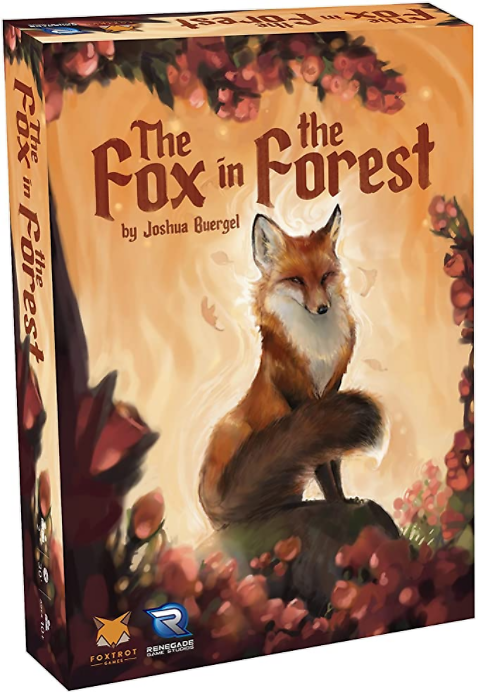 Renegade Game Studios - The Fox in the Forest Card Game (0574RGS), A Trick-Taking Game for 2 Players, Age 10 and Up