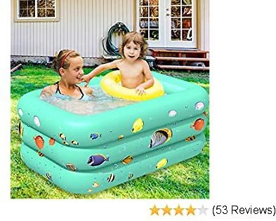 75% Off Greenpse Inflatable Pool for Baby, Kids and Toddler