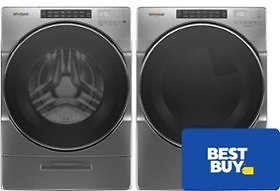 Free $50 E-Gift Card W/ Select Whirlpool Washer & Dryer For My Best Buy® Members