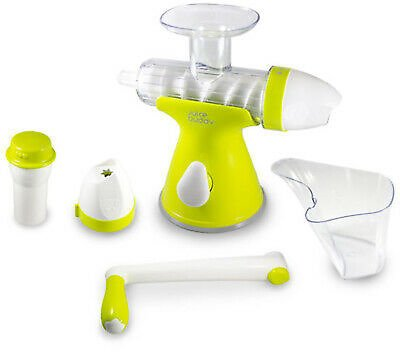 Juice Buddy 2 in 1 Hand Crank, Ice Cream Maker & Juicer, With Suction Mount