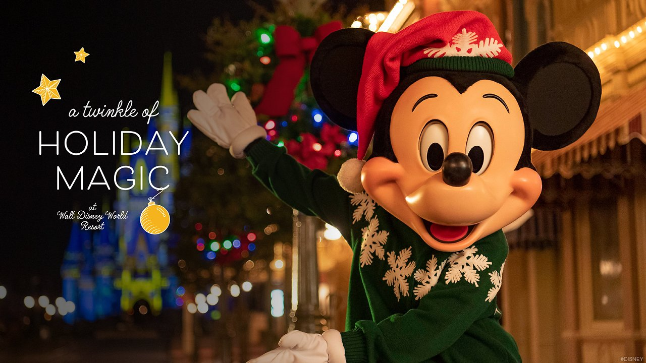 Disney's 2020 Mickey's Very Merry Christmas Party + EPCOT's Candlelight Procession Have Been Cancelled