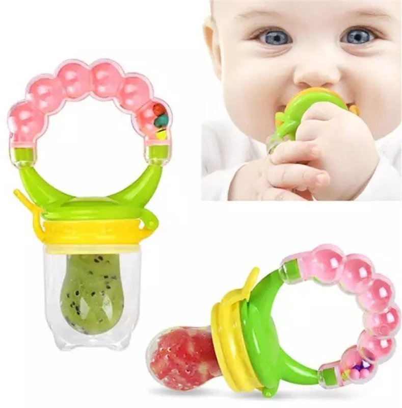 US $1.02 68% OFF|Baby Fresh Food Feeder Safety Infant Pacifiers Fresh Fruit Nibbler Rotating Mills Chew Fruit Nipples Grinder Feeding Toys|Baby Food Mills| - AliExpress