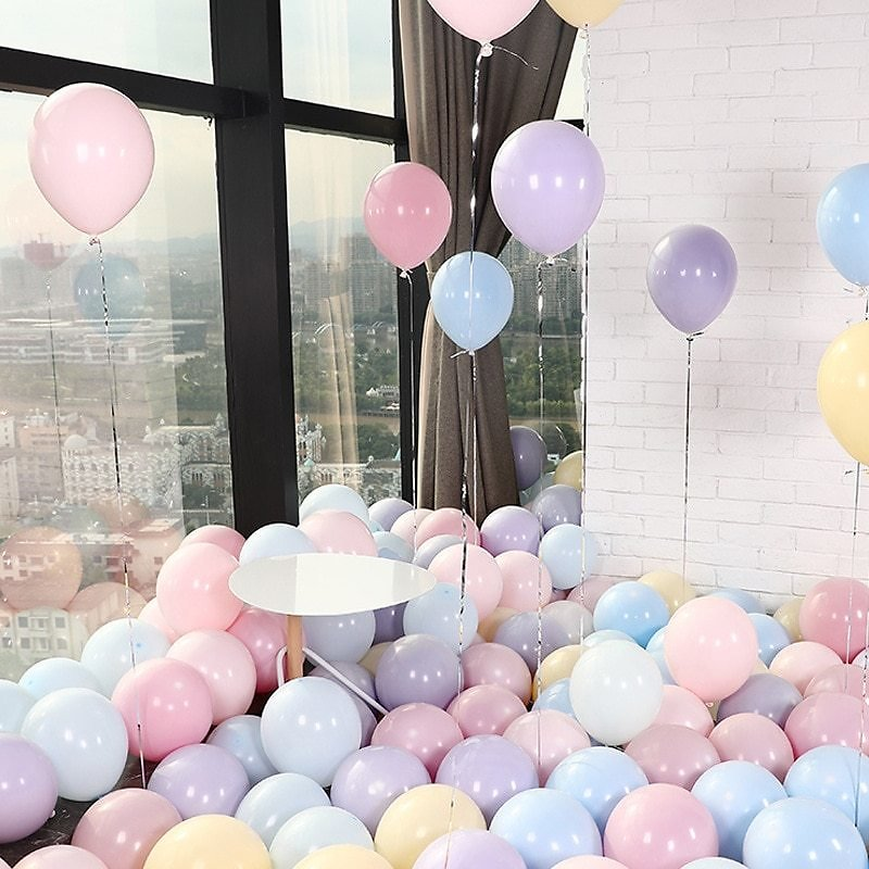 US $8.95 55% OFF|100 Macarons Balloon Pastel Party Rubber Balloons Garland Colorful Candy Birthday Wedding Party Decoration Balloon Arch|Ballons & Accessories| - AliExpress