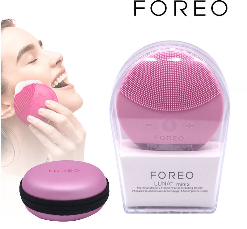 US $6.9 |Foreo Luna Mini 2 Electric Facial Cleansing Pore Cleaner Apparatus Blackhead Removal Silicone Washing Instrument|Powered Facial Cleansing Devices| - AliExpress
