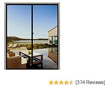 Only $6.49 with this code: D2XWSXX5 50% OFF for MAGZO Black Magnetic Screen Door 3080