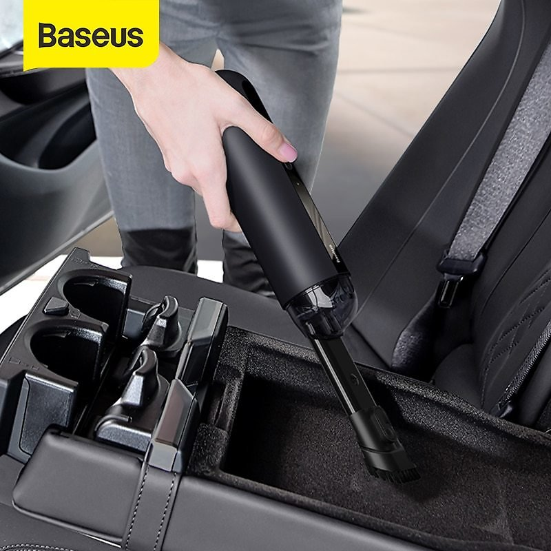 Car Vacuum Cleaner Mini Handheld Auto Vacuum Cleaner with 5000Pa Powerful Suction For Home & Car & Office