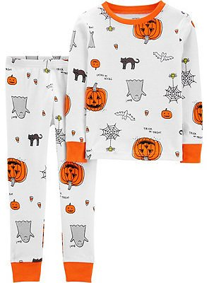 Carter's 2-Pc Halloween PJs