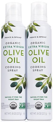 Prince & Spring Organic Extra Virgin Olive Oil Cooking Spray