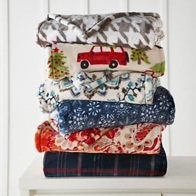 Member's Mark Lounge Throw (Assorted Colors) - Sam's Club