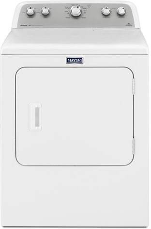 Maytag 7.0-cu Ft Vented Electric Dryer with Sanitize Cycle - White Lowes.com