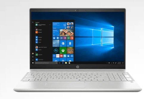 HP Pavilion 15z 15.6-inch Touch Laptop W/Ryzen 7, 512GB SSD