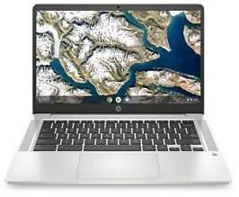 HP 14a-na0642cl 14-in HD Chromebook W/Intel Celeron, 4GB RAM