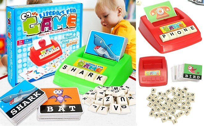 Matching Letter Game for Early Learning JUST $17.92 + FREE Shipping (Reg $36)