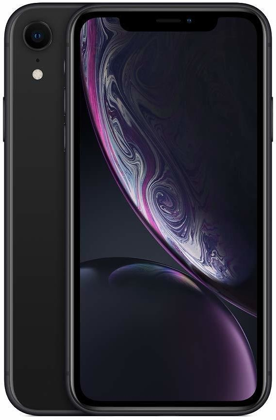 Apple IPhone XR (64GB, Black) [Locked] + Carrier Subscription