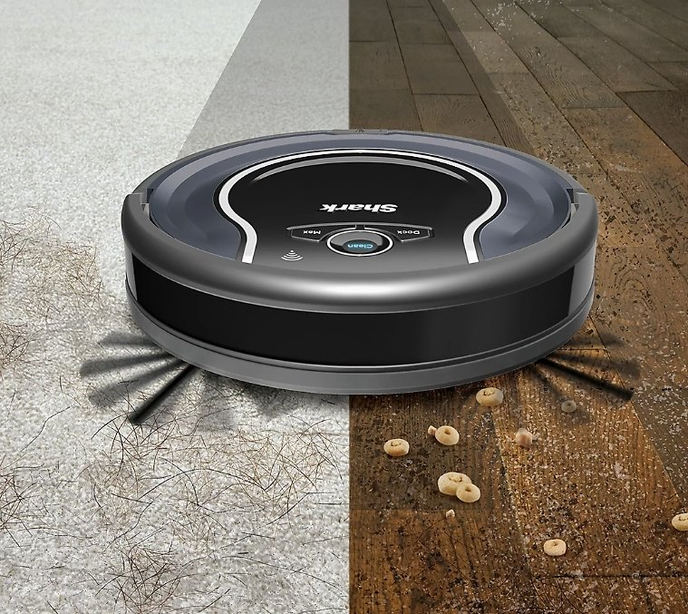 Shark ION Robotic Vacuum Wi-Fi Connected