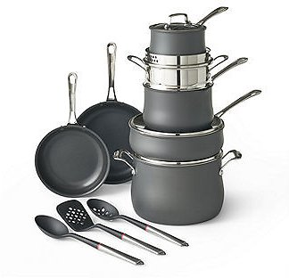 14-pc Cookware Set with Tools ON SALE
