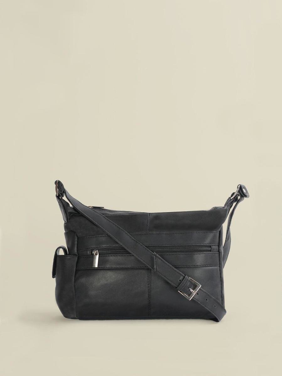 Crossbody with Outside Zip Pockets - Wilsons Leather