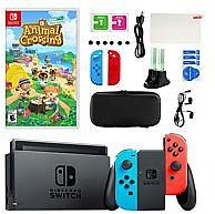Nintendo Switch with Animal Crossing New Horizons and Accessories Kit - 9751000 | HSN