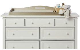 Evolur Changing Tray for Double Dresser (Choose Your Color) - Sam's Club