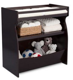 Delta Children 2-in-1 Changing Storage Unit (Choose Your Color) - Sam's Club
