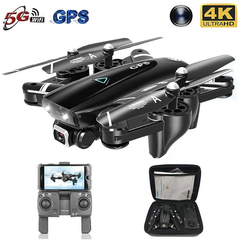 2020 New GPS Drone With 4K Camera 5G WIFI FPV RC Foldable Quadcopter Drone Flying Gesture Photos Video Helicopter Toy